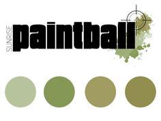 Sunrise Paintball - Logo Design