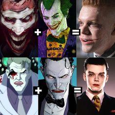 Thank you to the wonderful human who made this! Gotham City, Jerome Gotham, Gotham Joker, Gotham Villains, Cameron Monaghan Gotham, Dc Comics, Gotham Series, Joker Images, Jerome Valeska