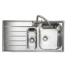 Buy Rangemaster Oakland Bowl Brushed Stainless Steel Kitchen Sink Lh from Taps UK, UK's specialist kitchen sinks and taps supplier.