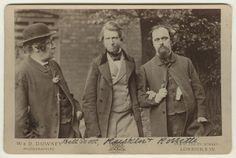 John Ruskin ( in the middle in 1864), 1819-1900