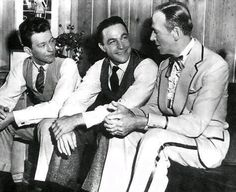 Donald O'Connor, Gene Kelly and Fred Astaire