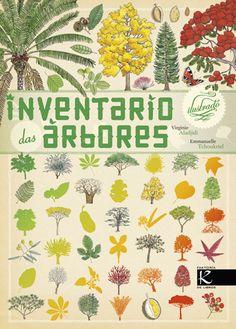 Inventario ilustrado das árbores-V.Aladjidi-Kalandraka // 58g verde