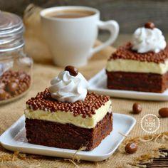 Beyaz Çikolatalı Brownie Pasta