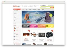 megashop WooCommerce template