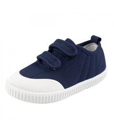 87fc07b79 Boys  Girls  School Shoe Kids Lightweight Canvas Casual Low Top Sneakers  Slip-On Loafers - Navy - CG18H48UT2H