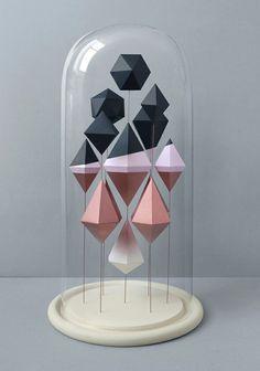 present and correct paper sculpture