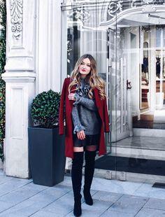 Goddressthequeen – #Fashion #Blogger Anastasia Rastorguev wearing Zara coat, pullover and AllSaints leather skirt #zara #hm #hmootd #ootd #dress #hmstudio #hmstudioaw16 #ootd #hmootd #dressesup #dressup #barcelona #elborn #germanblogger #russianbogger #melbourneblogger #summerdress #barcelonablogger #hamburgblogger #hamburgstreetstyle #streetstyle