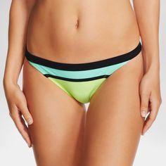 Women's Colorblock Cheeky Bikini Bottom - Xhilaration