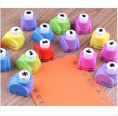 Mini Scrapbook Punches Handmade Cutter Card Craft Calico Printing Flower Paper Craft Punch Hole Puncher Shape DIY Tool-in Hole Punch from Office  School Supplies on Aliexpress.com | Alibaba Group