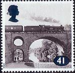 British railway stamp