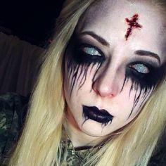 possessed makeup girl - Google-haku