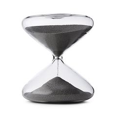 UncommonGoods: Productivity Timing Hourglass for $60 http://www.uncommongoods.com/product/productivity-timing-hourglass      25 minutes