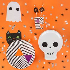 Le mix parfait pour une table monstrueusement festive ! #halloween #table #mylittleday #dailydoseoffiesta