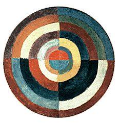 Simultaneous Disc, 1912. Robert Delaunay.