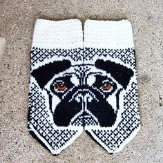 Knitted Pug Pattern : 1000+ images about Pug knits and crochet on Pinterest Pug, Dog Sweaters and...