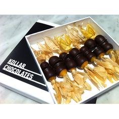 Chocolate Covered Gooseberries