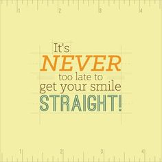It's never too late to get your #smile straight! Our orthodontist, Dr. Barton is in office this Monday. Call now to schedule a consult! #Dental2000NJ #PainFreeDentist #Invisalign