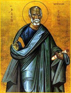 Saint Simon the Zealot and Apostle of Georgia