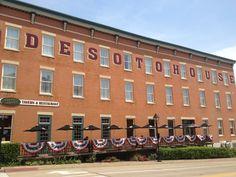 #DeSoto #House #Hotel #Galena #Illinois #Travel #Vacation