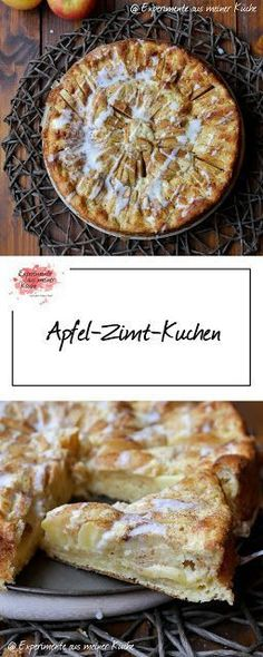 Apfel-Zimt-Kuchen   Rezept   Backen