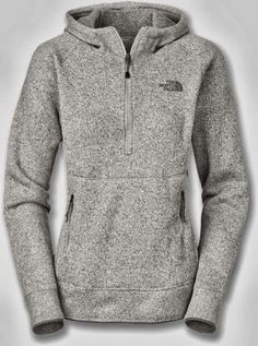 New Adorable Comfy Grey North Face Hoodie.