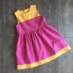 In celebration of the first day of summer this dress is on sale for $30! Girls size 6 in a lightweight cotton perfect for summer days!
