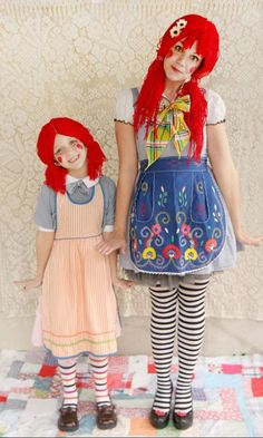 Disfraces caseros: Muñeca