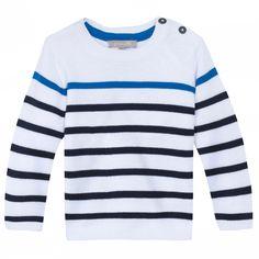 #babyboy #maglia #cotone #righe #sailor #zgeneration #sport #chic   #ideas #marinière #mood #style #Zgeneration http://it.zgeneration.com/it/catalog/Maglione-alla-marinara,2933835.html?axe2=3M&catalogParam%5BtopicId%5D=1935900