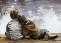 Victor Bauer 1969 | American Knife Figurative painter