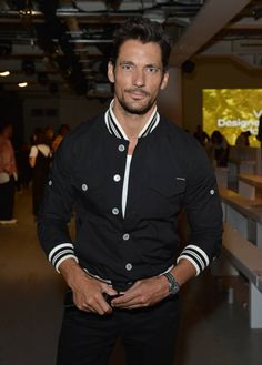 David Gandy attends the Christopher Raeburn show during London Fashion Week Men's June 2018 at the BFC Show Space on June 10 2018 in London England