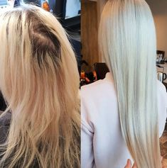 Luxushair Before & After 👸   Here Hairdresser insta@hairby.lho put in Tapehair 65 cm in color #610  ♥️  30 fester for only 1299 Nok (150$)  This month😏  www.luxushair.com - - - #hairextensions #extensions #hair #hairgoals #longhair #hairstyle #hairstyles  #color #humanhair #hairstylist #haircolor #hairsalon #hairfashion #hairoftheday #hairideas #tapehair #clipon #keratinhair #europeanhair #virginhair #beforeandafter #looking Keratin Hair, Tape In Hair Extensions, Virgin Hair, Hair Goals, Haircolor, Hairdresser, Tapas, Hairstyles, Long Hair Styles
