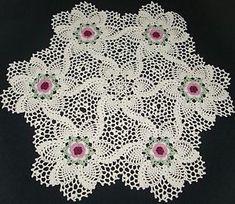 Resultado de imagen de centro espiral crochet