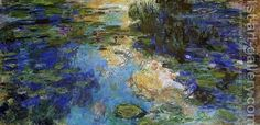 Water Lily Pond painting I like.