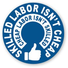 Skilled Labor Decal – Decal.Deals