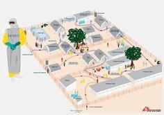 Ebolabehandelcentrum van Artsen zonder Grenzen