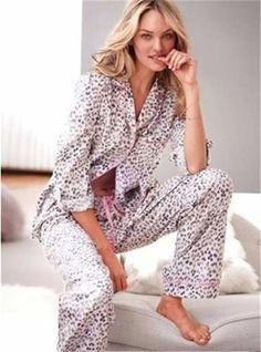 victorias secret pijama print nueva temporada med
