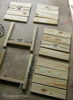Remodelando la Casa: DIY - Wooden Planters