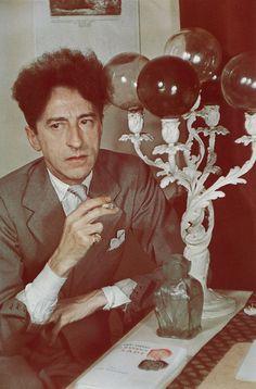 Gisele Freund portrait of Jean Cocteau