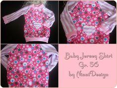 Baby Jersey Shirt Gr. 56 von Creativlädchen auf DaWanda.com