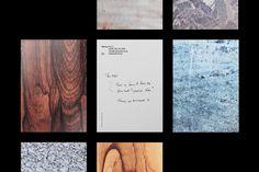 Postcards designed by Lundgren+Lindqvist for Swedish furniture business Markus Form