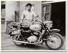 1956 Colleda (Japan - Suzuki) 250 TT, 'S' for Suzuki started to appear in 1959.