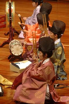 Japanese traditional orchestra