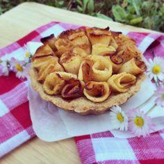 Rose tart #sweet #apple #cake