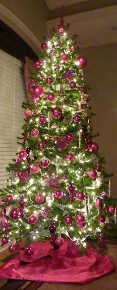 Christmas Decorations Photos dreaming of a pink christmas (pink christmas tree decor | pink
