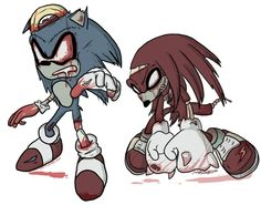 """Sonic??? =""""{ what happen to you"""