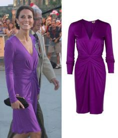 Kate wore an Issa frock for the concert and Fireworks show during the North American tour in 2011.