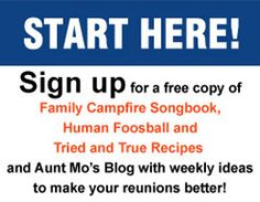 Discover just how easy it can be to plan and host your next family reunion or family gathering.