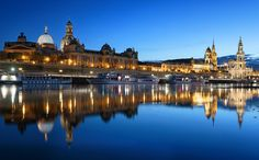 Blue Hour in Dresden