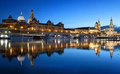 Blue Hour in Dresden