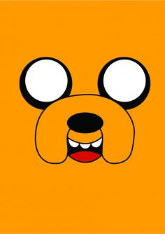 Jake - Adventure Time - Desenhos | Posters Minimalistas